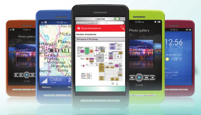 TI 智能手机解决方案指南2013年第二季