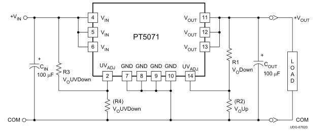 PT5071V电压调整记录