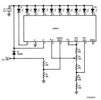 简单电压表监控TTL电源