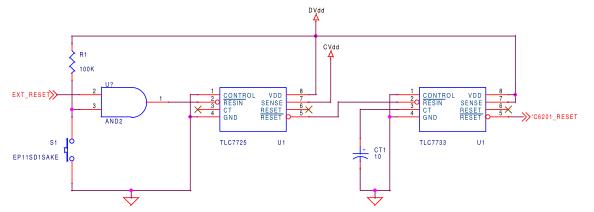 关于TMS320C6000 DSP的复位电路