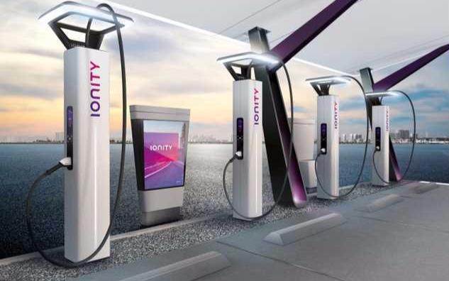寶馬被委托為Ionity設計電動汽車充電樁