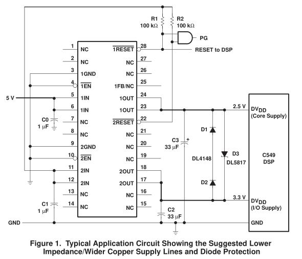 如何使用TPS767D325 LDO调节器