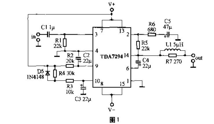 tda7294功放电路图大全(七款恒流功放/Hi-Fi集成功放/高保真功放电路)
