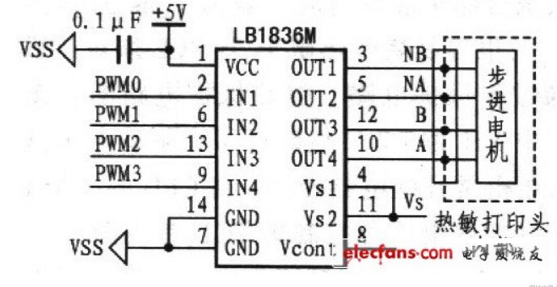步进电机驱动电路图大全(六款二相步进电机/三相反应式/LT2221驱动电路)