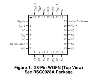 LM4960压电扬声器驱动器