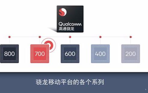 高通正式发布了全新的骁龙700系列移动平台