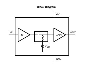 LMV1031-20用于内部3线模拟麦克风和外部前置放大器的放大器