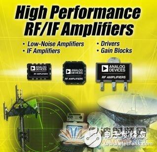 抢先看:ADI推出12款覆盖全部射频信号链的RF放大器系列产品