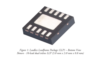 国家LLP封装的热性能,突出LM2750稳压转换器