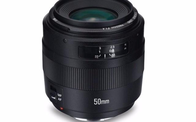 永诺即将发布新款AF 50mm f/1.4 自动镜头