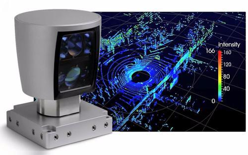 北京北科天绘科技有限公司自主研发的R-Fans-32激光雷达亮相科技周、科博会