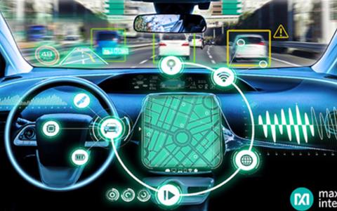Maxim面向汽车信息娱乐系统及ADAS应用推出紧凑型同步整流Buck, 提供行业最低EMI