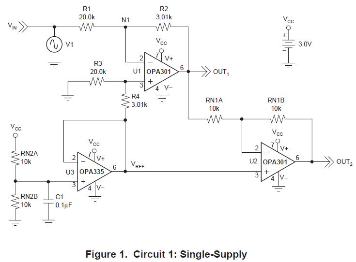 如何将高电压信号转换成具有差分输入的低电压数据转换器能接受的电压