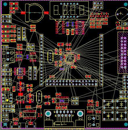 如何画双层pcb板_PCB双层板的布线原则