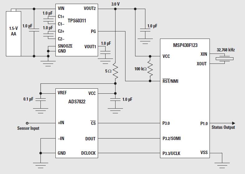如何使用驱动技术来维持智能传感器应用中的最低功耗的详细概述