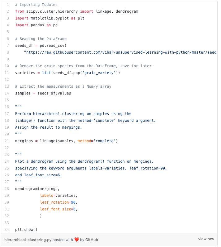 Python无监督学习的几种聚类算法包括K-Means聚类,分层聚类等详细概述