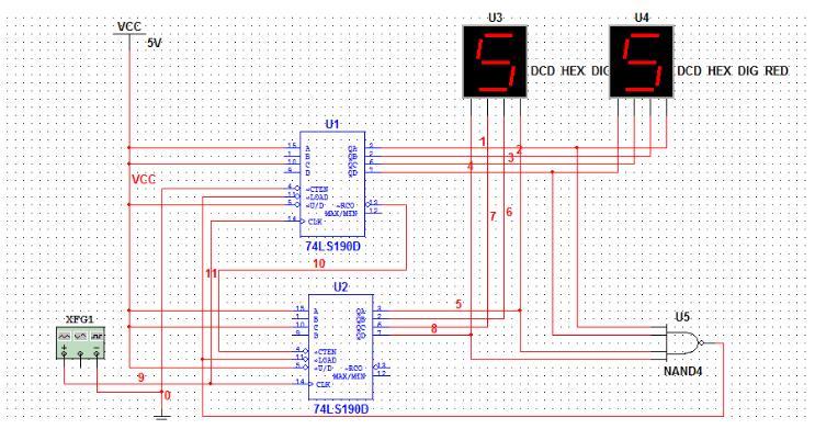 74ls190中文资料汇总(74ls190引脚图及功能_工作原理及应用电路)