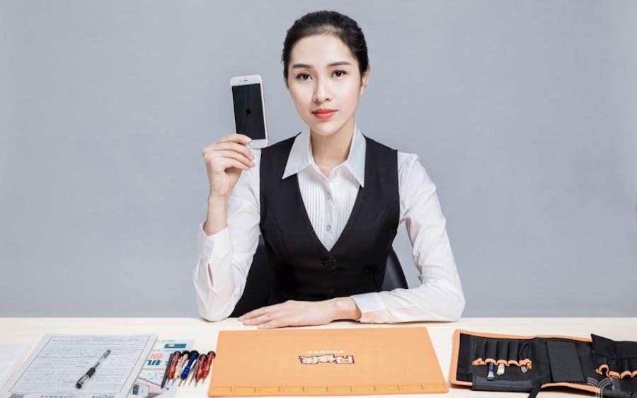 """国内最大手机上门维修服务商""""闪修侠"""" 能修手机/..."""