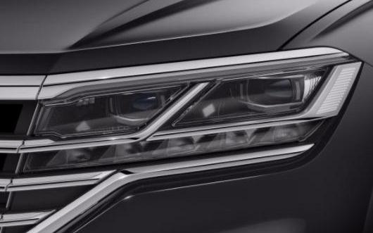 大众将向新款豪华级SUV提供创新型车灯系统IQ.LIGHT LED矩阵车头灯