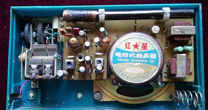 半导体收音机实物电路图大全
