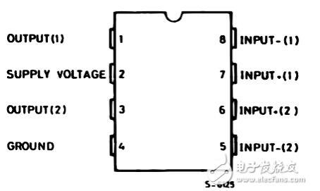 一文看懂tda2822和tda2822m的区别(引脚功能及电路图)