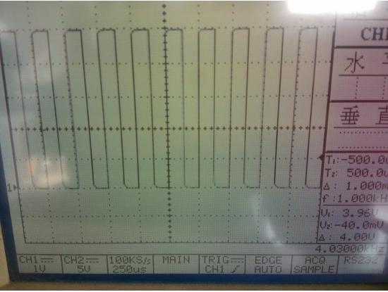 一種關于PWM和精確延時輸出的方波
