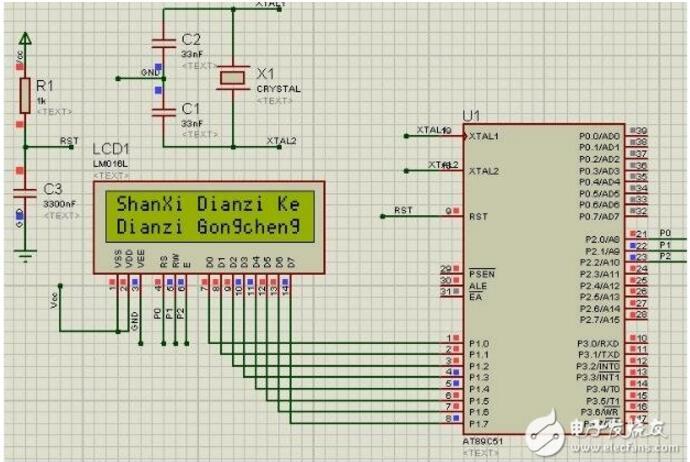 lcd1602显示电路图大全(两款lcd1602...
