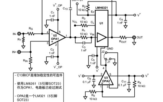 LMH6321(PSOP和TO-263)单路开环高速缓冲器评估板