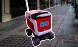 Kiwi送餐机器人随处可见