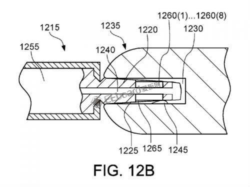 苹果两项新专利曝光,Lightning接口变成楔...
