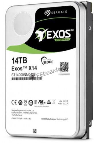 希捷将推出企业级 Exos X 系列机械硬盘,容量高达 14TB!