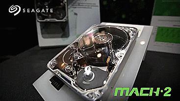 希捷展示全球最快的机械硬盘,数据传输速度达到了480MB/s