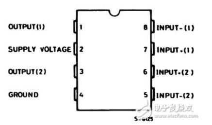 tda2822m单声道电路图原理详解