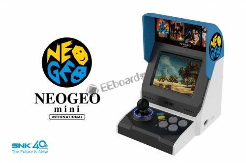 SNK推出了缩小版游戏街机--NEOGEO mini,这口情怀饭你吃不吃?