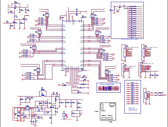 LETV S50-X50 AIR的电路图包括遥控板,电源板,升压板等9个电路图