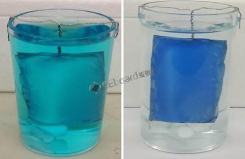 """国外发明了一种新的""""纤维垫"""",可以吸附并破坏水中的污染物"""