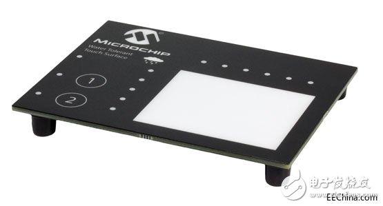 美国微芯科技公司宣布推出一款新型2D触摸表面软件库