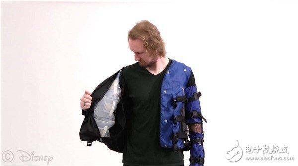 迪士尼推出一种智能夹克 通过物理反馈模拟真实的触感