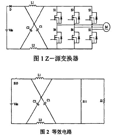 Z源变换器工作的原理详细分析和在电机驱动上的应用研究详细概括