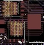 MOSFET等大型焊盘的背面可以打过孔
