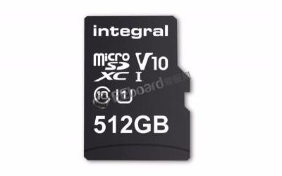 你会考虑为你的手机购买一张512GB的存储卡吗?