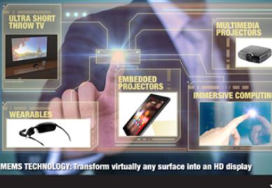 基于MEMS投影显示技术创新型应用