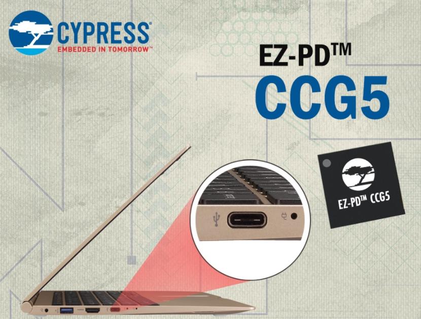 赛普拉斯EZ-PD CCG5 双端口控制器获得英...