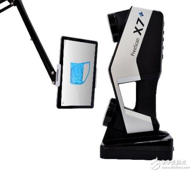 北京天远三维科技发布 FreeScan Plus无线激光手持三维扫描仪