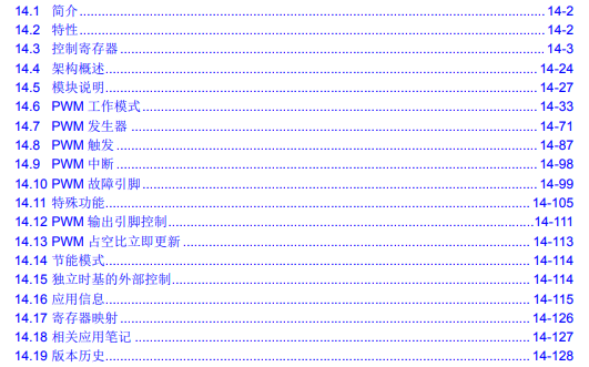 dsPIC33E和dsPIC24E FRM的高速PWM详细中文资料免费下载
