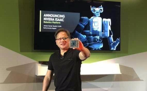英伟达发布一款全新 AI 芯片并展示了另外两款 AI 处理器