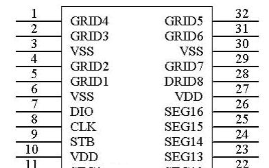 AIP1629A LED驱动专用电路产品说明书的详细中文资料概述