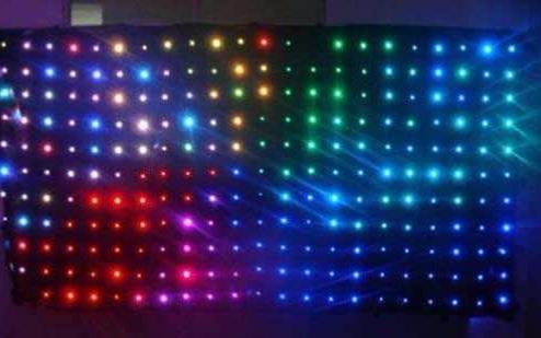 micro LED未来怎么走,还看工程大屏