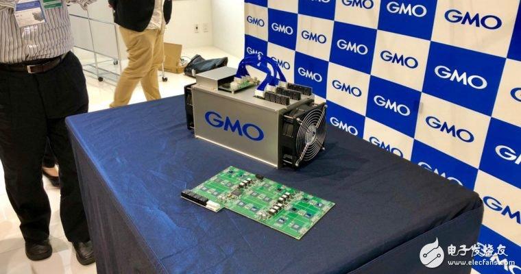 日本互联网巨头GMO公司公布了旗下第一台比特币矿机——B2