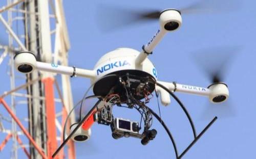 诺基亚也开始研发专用无人机,将用于对通信设备和移...